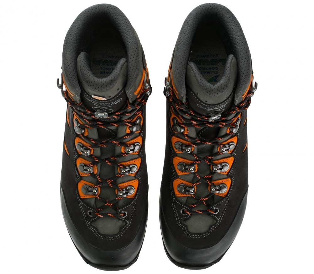 Lowa - Camino GTX men's trekking shoes (black/orange)
