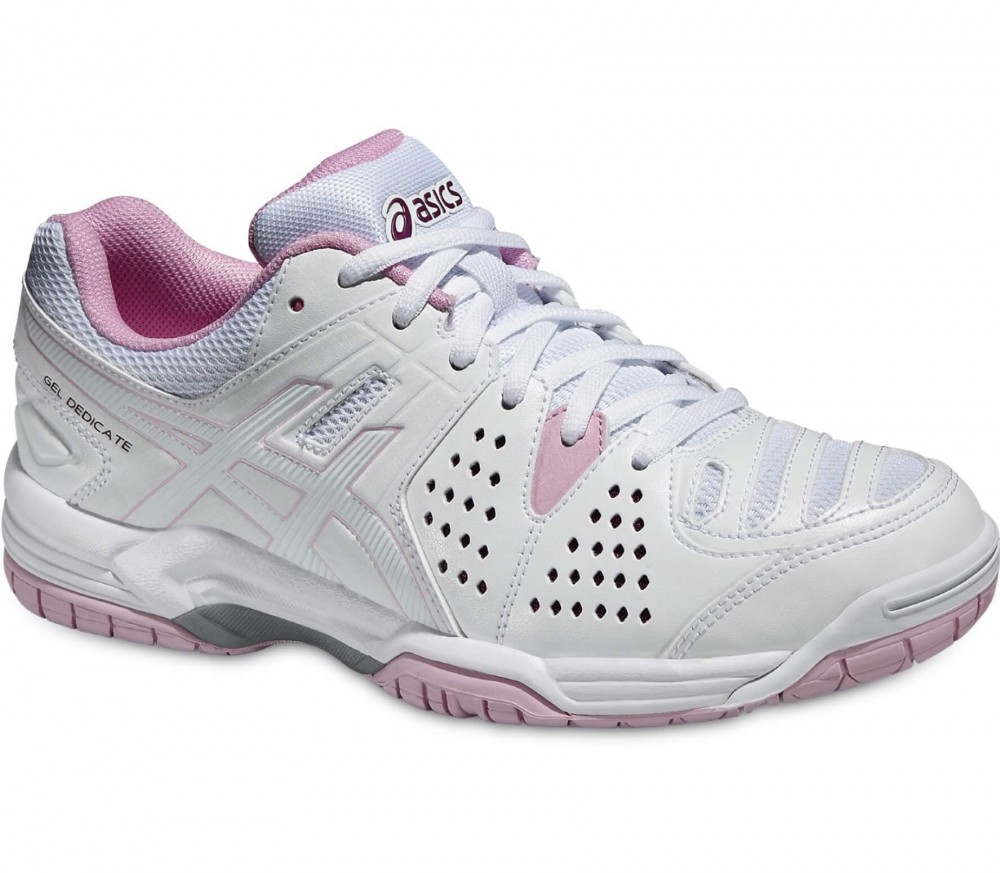 Asics - Gel-Dedicate 4 women's tennis shoes (white)