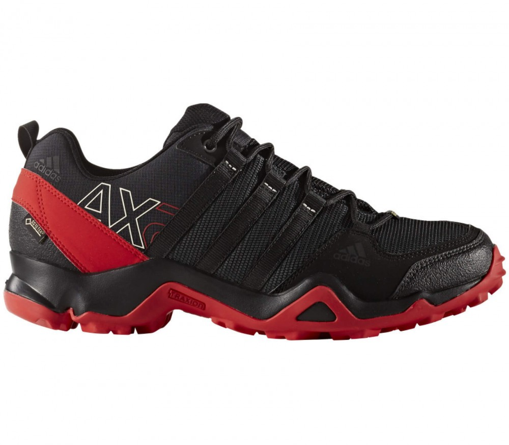 Adidas - AX2 GTX men's hiking shoes (black/red)