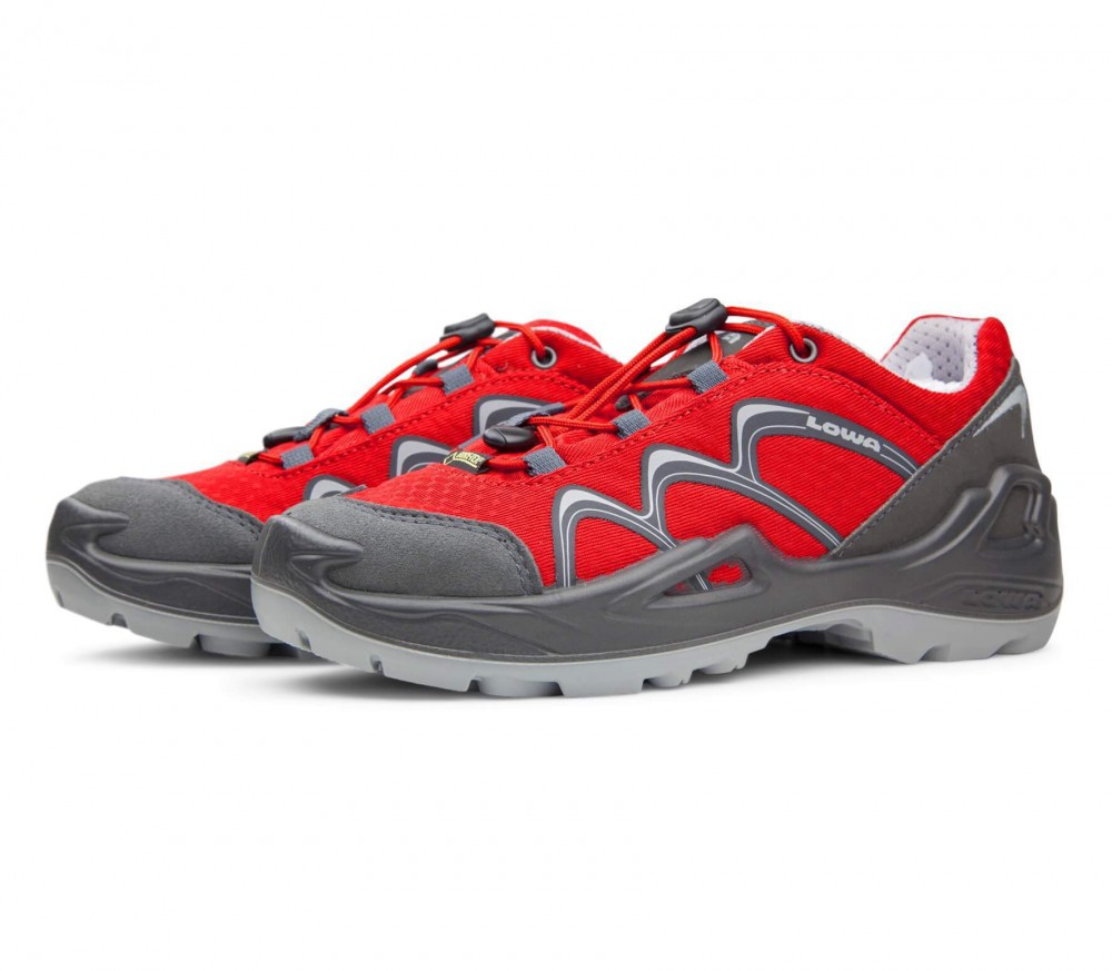 Lowa - Innox GTX LO Kids multi-functional shoes (red/grey)