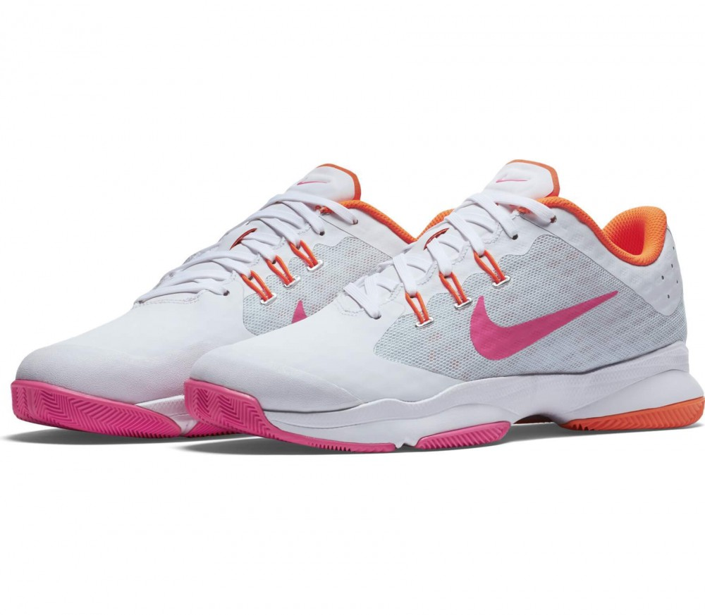 Nike - Air Zoom Ultra women's tennis shoes (white/orange)