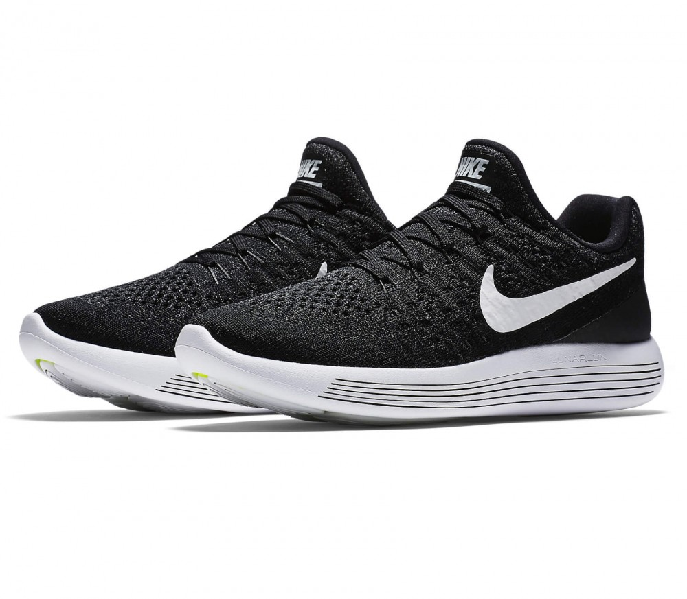 Nike - Lunar Epic Low Flyknit 2 women's running shoes (black/white)