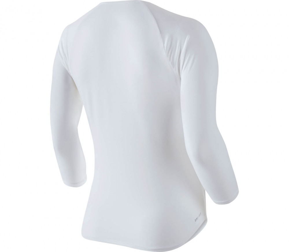 Nike - Pure long-sleeved women's tennis top (white)