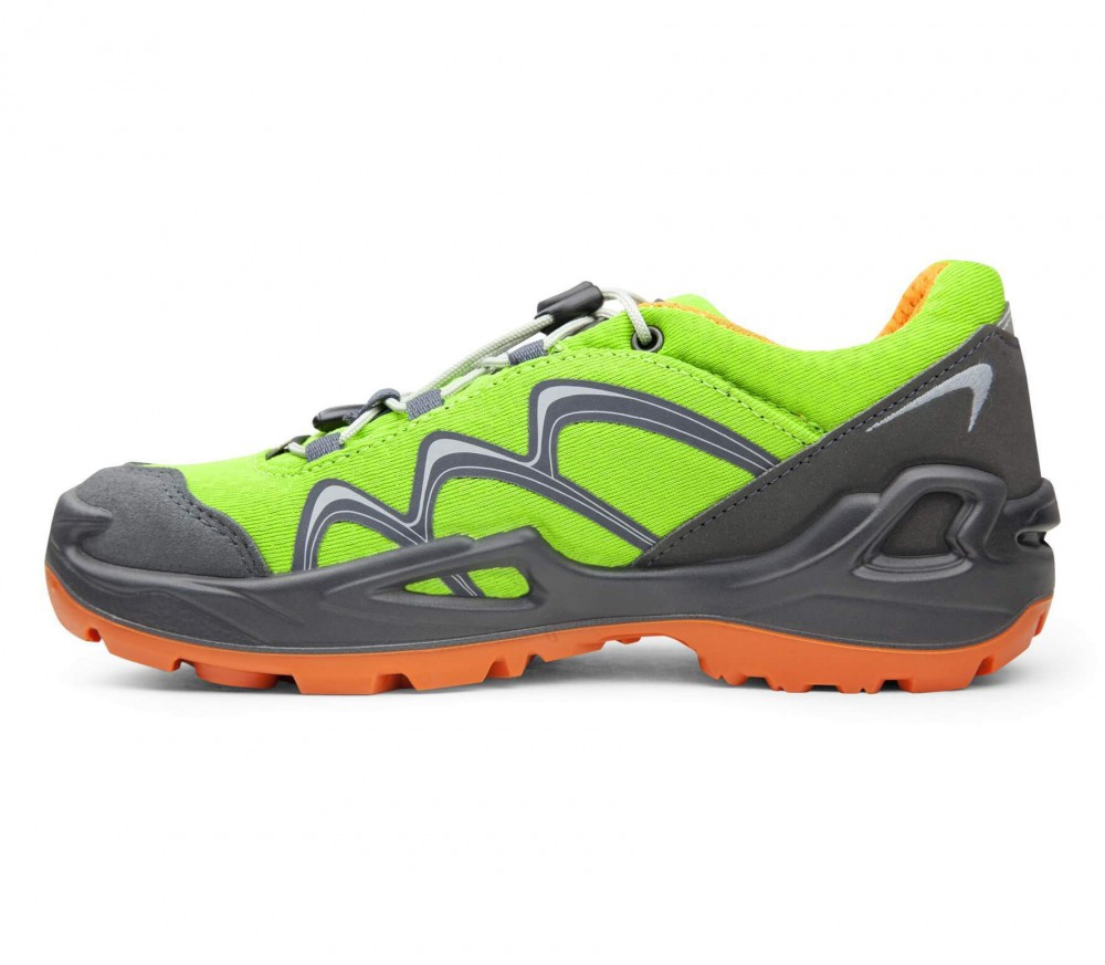 Lowa - Innox GTX LO children's hiking shoes (green/orange)