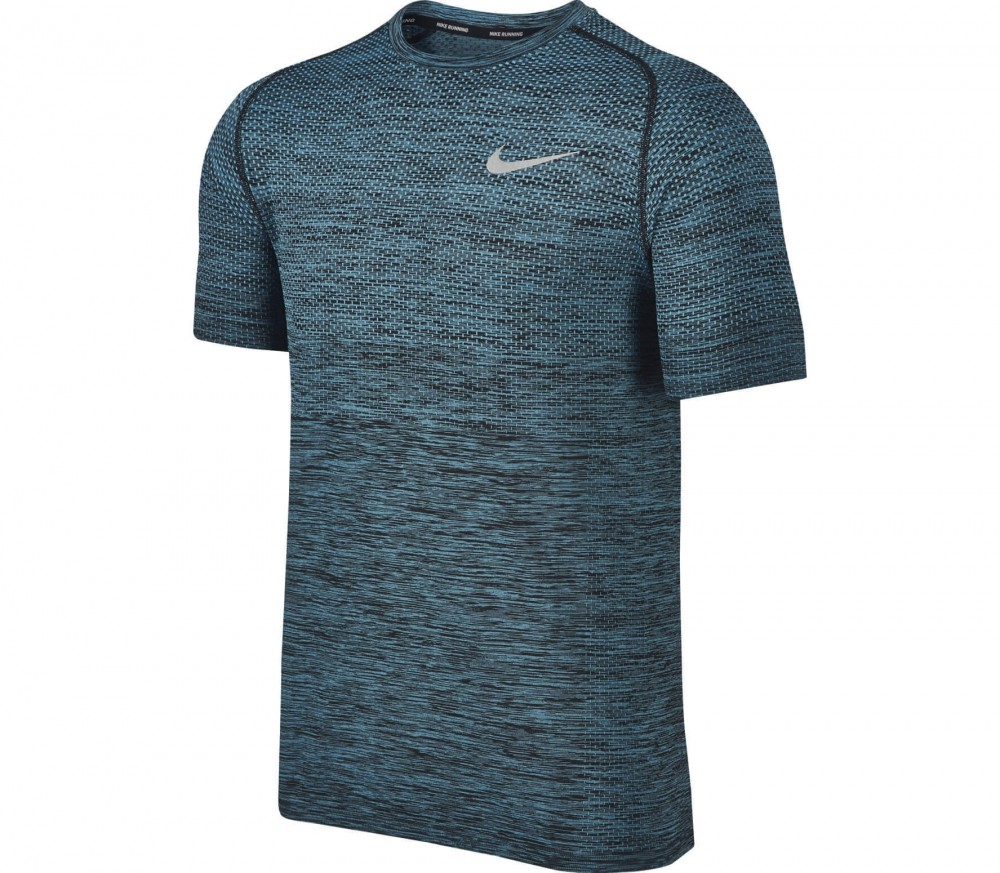 Nike - Dri-Fit Knit Shortsleeve women's running top (black)