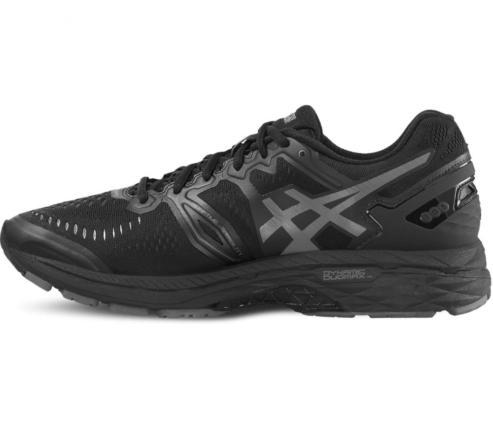 ASICS - Gel-Kayano 23 men's running shoes (black/grey)