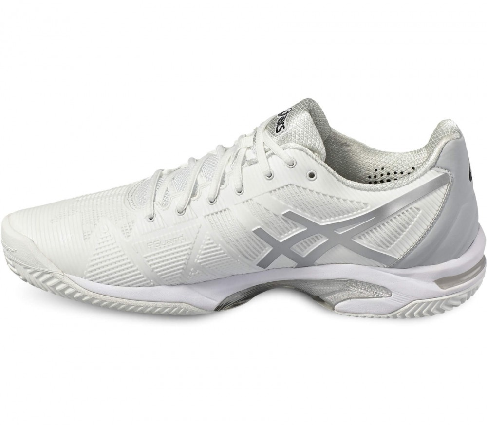 Asics - Gel-Solution Speed 3 Clay men's tennis shoes (white/grey)