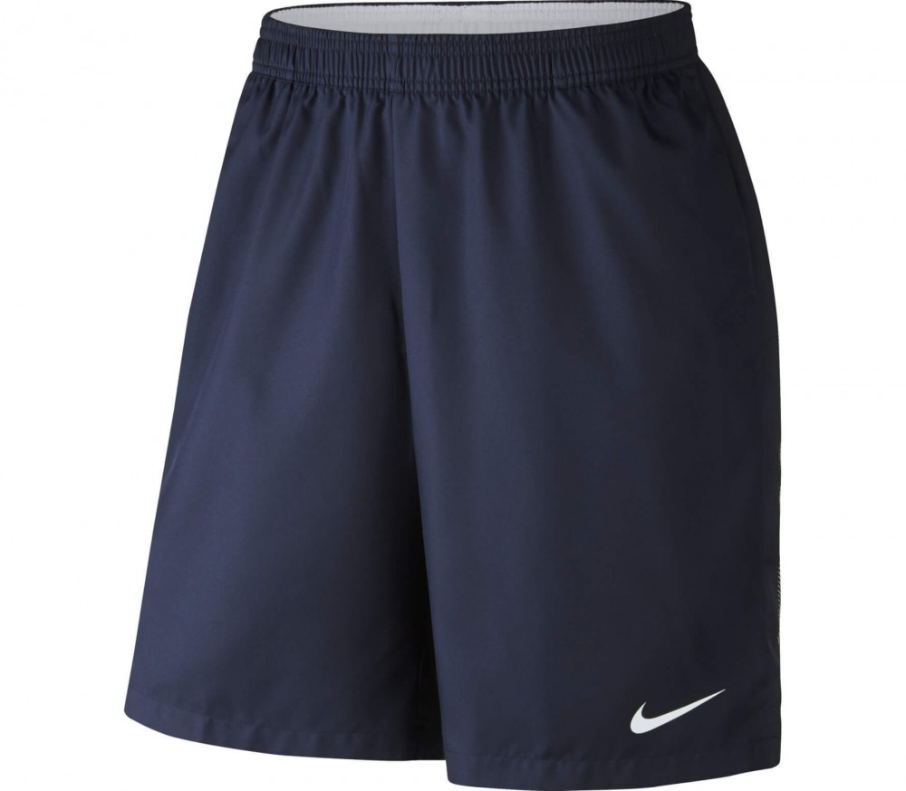 Nike - Court Dry men's tennis shorts (dark blue/white)
