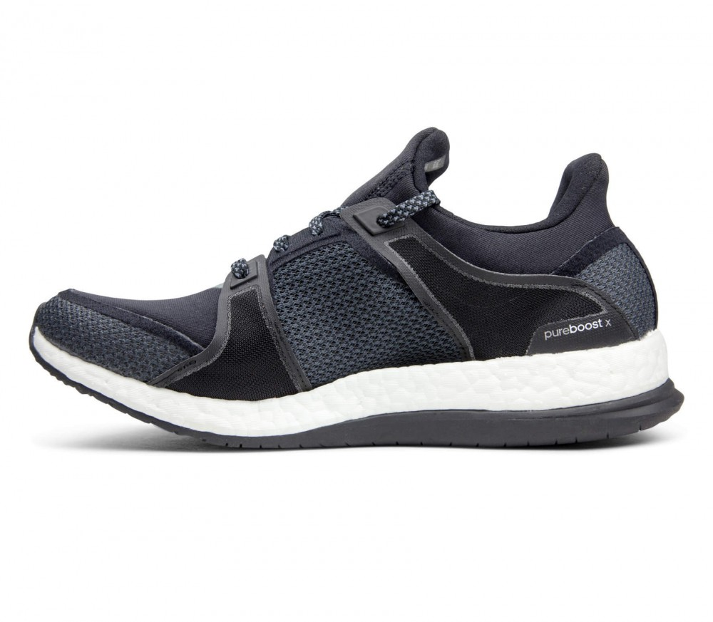 Adidas - Pureboost X women's training shoes (black/white)
