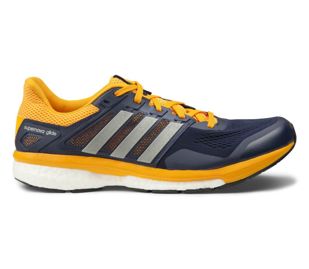 adidas supernova glide boost 8 men 39 s running shoes orange black buy it at the keller. Black Bedroom Furniture Sets. Home Design Ideas