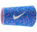 Nike - Rafael Nadal Mezzo DW tennis sweat band  (pink/ blue)