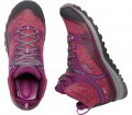Keen - Terradora MID WP women's hiking shoes (red/purple)