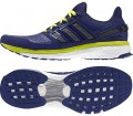Adidas - Energy Boost men's running shoes (dark blue/yellow)