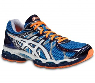 Asics - Gel-Nimbus 16 men running shoes (blue/orange)