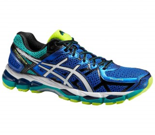 Asics - Gel-Kayano 21 men's running shoes (blue/white)