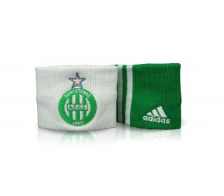 Adidas - AS Saint-Etienne Wristband - 2 pack (green/white)