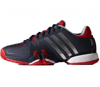 Adidas - Adipower Barricade Novak Djokovic US Open men's tennis shoes (dark blue/red)
