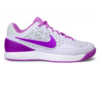 Nike - Air Zoom Cage 2 women\u0027s tennis shoes (white/pink)