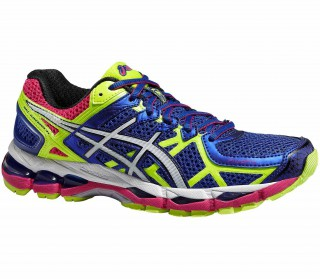 Asics - Gel-Kayano 21 women's running shoes (blue/white)
