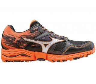 Mizuno - Wave Kazan 2 men's running shoes (silver/orange)