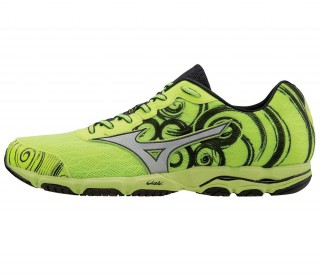 Mizuno - Wave Hitogami 2 men's running shoes (yellow/silver)