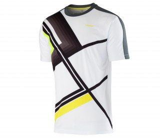 Head - Brandon men's tennis shirt (white/anthracite)