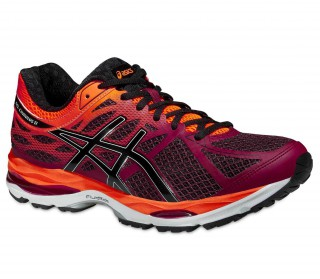 Asics - Gel Cumulus 17 men's running shoes (violet/orange)