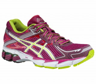 Asics - GT-1000 2 women running shoes (purple/green)