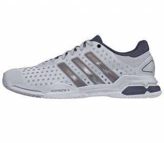 Adidas - Barricade Team 4 Men's tennis shoes (grey/silver)