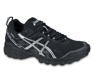 Asics - Gel-Trail Lahar 5 G-TX women running shoes (black/silver)