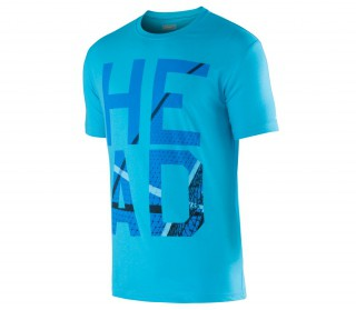 Head - Carlo men's tennis shirt (turquoise)