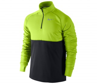 Nike - Racer Half Zip men's running shirt (green/black)