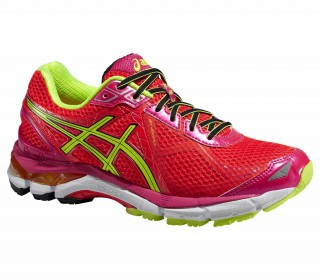 Asics - GT-2000 3 women's running shoes (yellow/red)