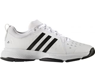 Adidas - Barricade Classic Bounce Synthetic men's tennis shoes (white/black)