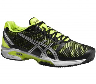 Asics - Gel-Solution Speed 2 Clay men's tennis shoes (yellow/black)