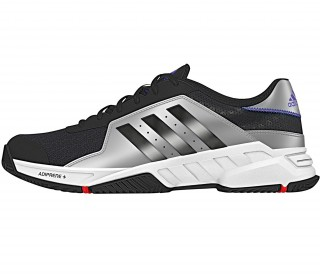 Adidas - Barricade Court men's tennis shoes (black/silver)