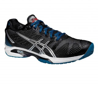 Asics - Gel Solution Speed 2 Clay men's tennis shoe (black/silver)