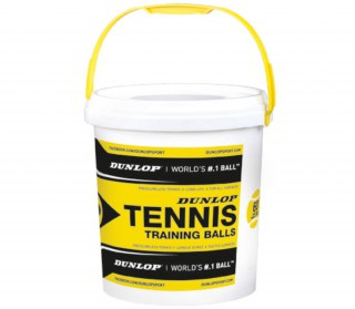 Dunlop - Training - 60 Balls - yellow