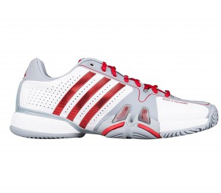 Adidas - Adipower Barricade Men´s Tennis shoes (white/silver)