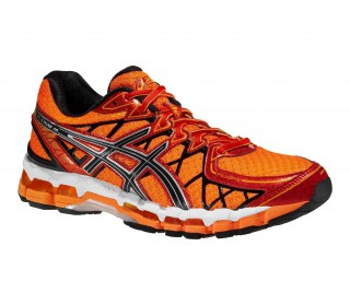 Asics - Gel-Kayano 20 Herren Laufschuh (orange/rot)