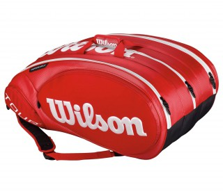 Wilson - Tour Molded 2.0 15 Tennis bag (red)