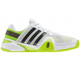 Adidas - Adipower Barricade 8 Clay Synthetic Men´s Tennis shoes (white/green)
