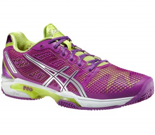 Asics - Gel-Solution Speed 2 Clay Women´s Tennis shoes (purple/green)
