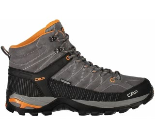 CMP - Rigel Mid WP men's hiking shoes (grey/orange)