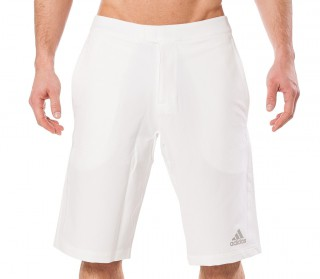 Adidas - Barricade Andy Murray Bermuda men's tennis shorts (white)