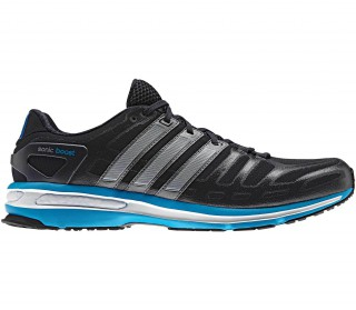 Adidas - Sonic Boost Men´s Running shoes (black/blue)