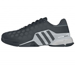 Adidas - Barricade 2015 Men's tennis shoes (grey/silver)