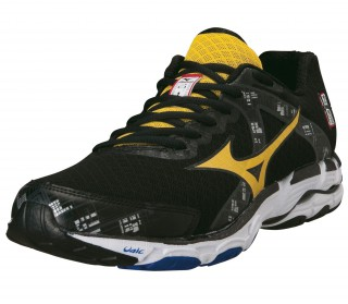 Mizuno - Wave Inspire 10 Men´s Running shoes (black/yellow)