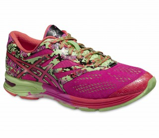 Asics - GEL-NOOSA TRI 10 women's running shoes (green/pink)