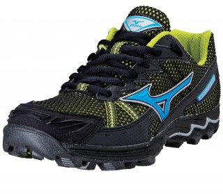 Mizuno - Wave Harrier 3 Men´s Running shoes (black/blue)